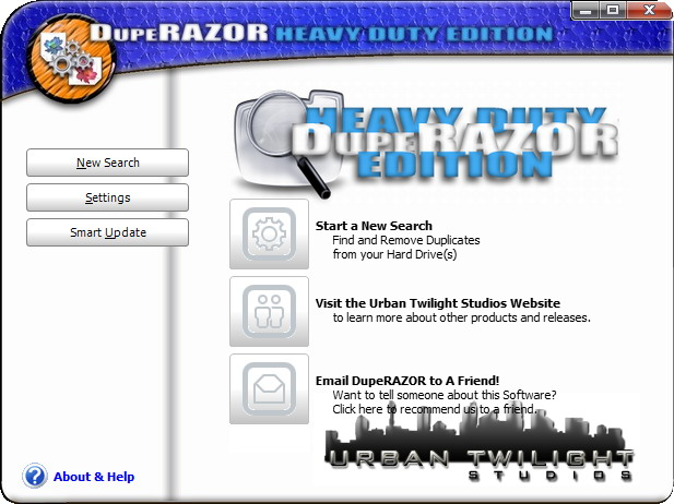 Click to view DupeRAZOR - Duplicate Files Removal Kit screenshots